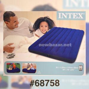 INTEX 68758 NB ДВУХСПАЛЬНЫЙ НАДУВНОЙ МАТРАС CLASSIC DOWNY BED