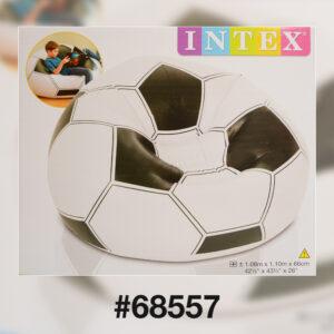 Intex 68557 Надувное кресло Футбольный мяч