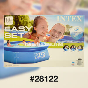 INTEX 28122 СЕМЕЙНЫЙ НАДУВНОЙ БАССЕЙН 3.05*0.76 С ФИЛЬТРОМ