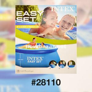 INTEX 28110 СЕМЕЙНЫЙ НАДУВНОЙ БАССЕЙН 2.44*0.76 POOL