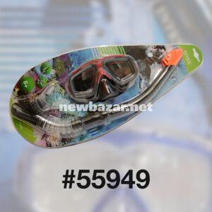 INTEX 55949 НАБОР МАСКА ТРУБКА