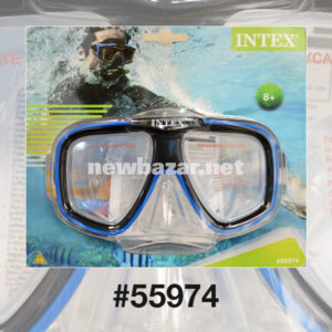 Intex 55974 МАСКА ДЛЯ ПЛАВАНИЯ REEF RIDER BLUE