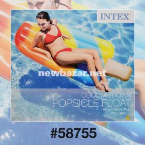 """Intex 58755 НАДУВНОЙ ПЛОТ """"ЭСКИМО"""" 178X77СМ"""