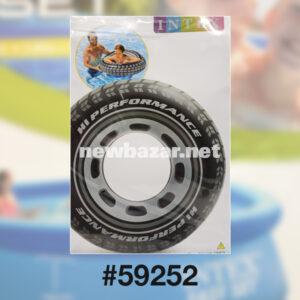 INTEX 59252 НАДУВНОЙ КРУГ 91 СМ ШИНА