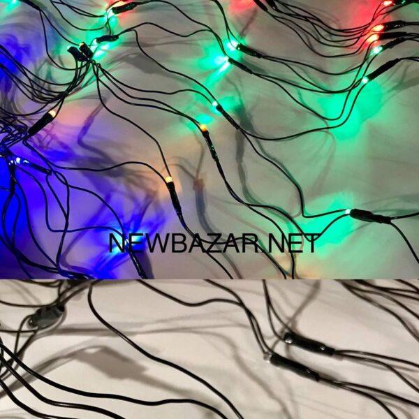 120 ламп сетка black 1.2м-1.0м микс
