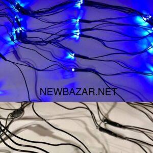 120 ламп сетка black 1.2м-1.0м синий