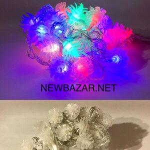 30 ламп насадка шишка пластик