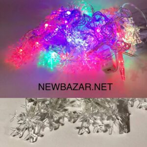 28 ламп насадка снежинка