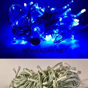 улица 100 ламп синий