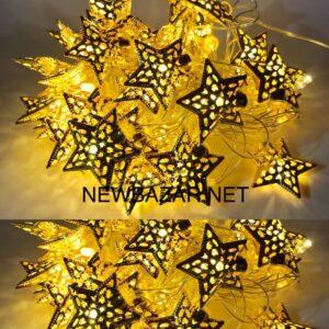 ЗОЛОТО 40 ламп звезда 40-2