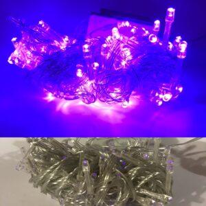 Гирлянда 200 led фиолетовый