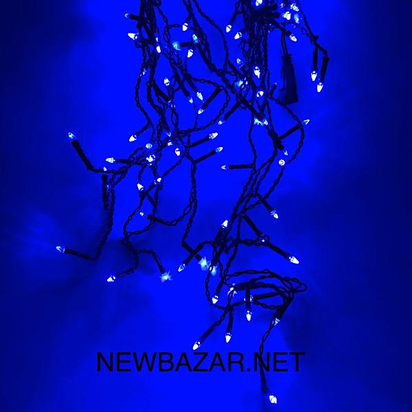 штора конус 3 м * 0.5 м синий