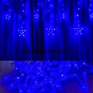 Штора звезда синяя star 12 b