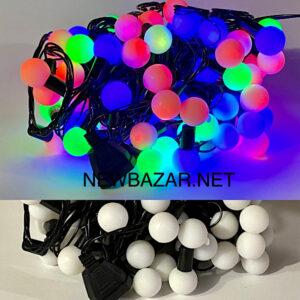 Гирлянда шар XL микс 80 ламп 100—3